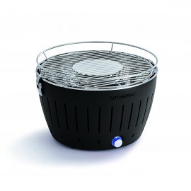 BARBECUE A CHARBON LOTUS GRILL NOIR