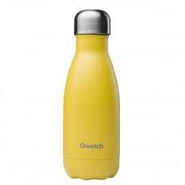 BOUTEILLE QWETCH POP JAUNE 260ml