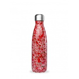 BOUTEILLE QWETCH FLOWERS ROUGE 500ml