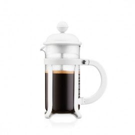 CAFETIERE A PISTON BLANC JAVA 3T 0.35L