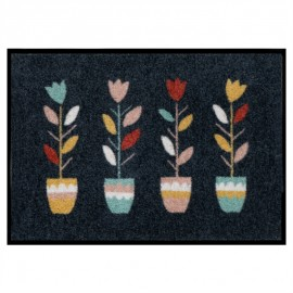 Tapis de patio LEMIYO Tulipes