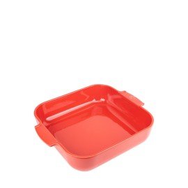 PLAT FOUR CARRÉ 36cm Rouge