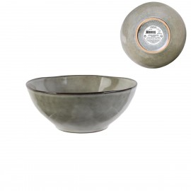 COUPELLE EN GRES 35CL D14.5CM GRIS