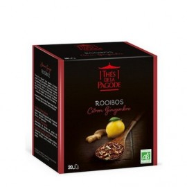 ROOIBOS CITRON-GINGEMBRE BIO 20 INFUSETTES
