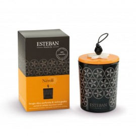 BOUGIE DECORATIVE PARFUMEE & RECHARGEABLE NEROLI