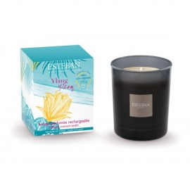 BOUGIE PARFUMEE INITIALE RECHARGEABLE 170G YLANG YLANG